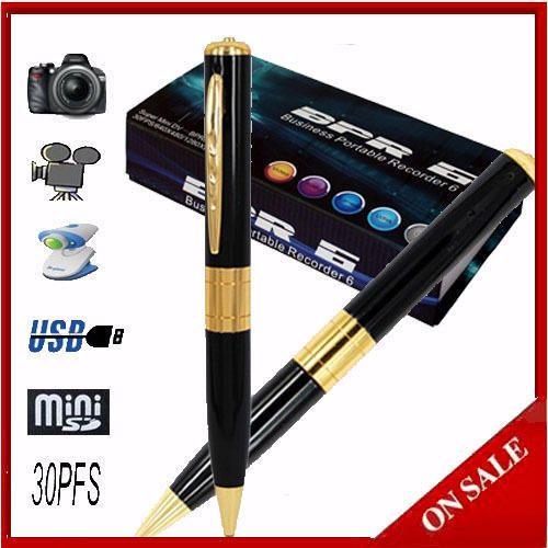 Bpr6 Spy High Resolution Pen Camera