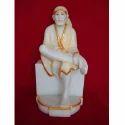 Gold Plated Sai Baba Idol