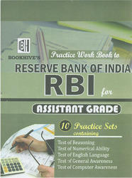 Practice Work Book to RBI For Assistant Grade