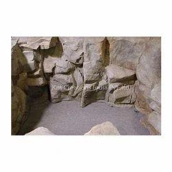 Fiberglass Rock Cave