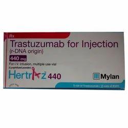 Hertraz Injection . TRANSTUZUMAB 440 INJ