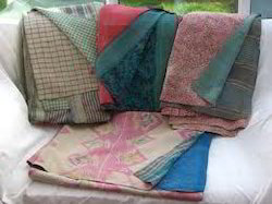 Kantha Ethnic Throw