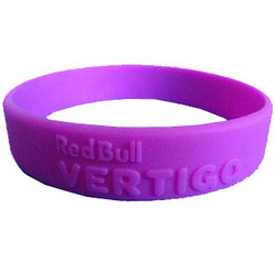Embossed Silicone Bracelets / Silicone Wristbands