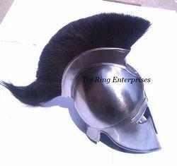 Corinthian Helmet with Black Plume
