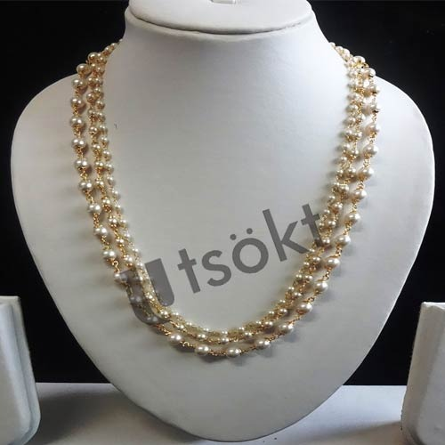 Excellent answer hand job necklace pearl