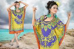 Ladies Short Georgette Kaftan