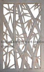 Contemporary Bamboo Grill Design