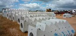 Prefabricated Cement Products Compound Wall