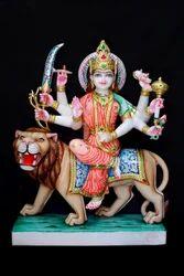 Marble Durga Mata Murti