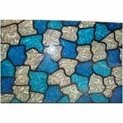 crinkle glass sheet