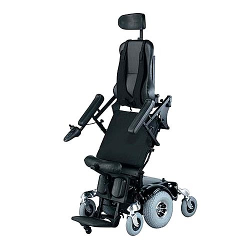Hydraulic Power Chair : Power stand up wheelchairs manufacturer from chennai