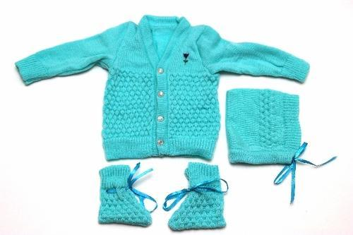 Lotus New Born Baby Sweater Full Set