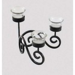 Decorative Iron Candle Holders