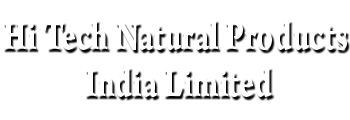 Hi Tech Natural Products India Limited