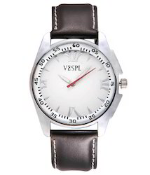 VESPL Classic White Dial Analog Men's Watch-VS152
