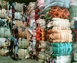 waste cutting cloths