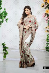 Embroidered Glamorous Designer Sarees