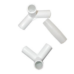 moulded plastic connector