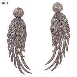 Feather Angel Wings Wholesale Jewelry, Drop Dangle Earring
