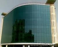 Front Elevation Glass And ACP Sheet