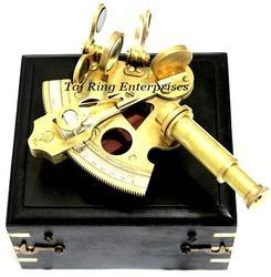 Antique Sextant With Box