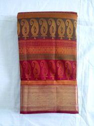 pure silk pure jari hand loom sarees