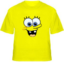 Face Yellow T-Shirt...