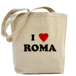 I Love Roma Printed Promotional Bags