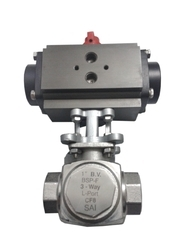 B.V, 3 Way,BSP Actuator Valve
