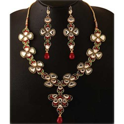 Gold Plated Wedding Jewelry Set