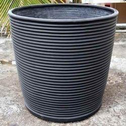 Round Ribs Garden Planter