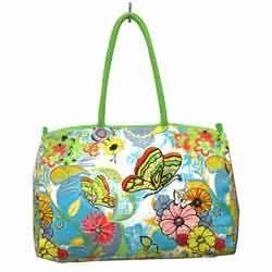 Printed Shopping Handbag