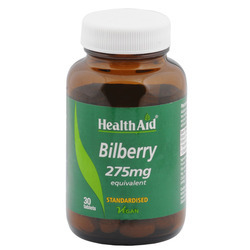 Bilberry 275 Mg 30 Tablets