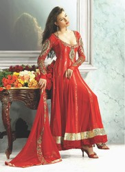 Luxurious Unstitch Long Salwar Kameez
