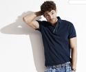 Mens Garment Dyed Polo T Shirts