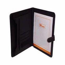 Leather Folders - Leather Office Folder Manufacturer from Mumbai.