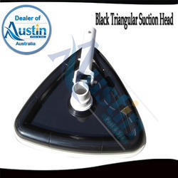 black triangular vacuum head