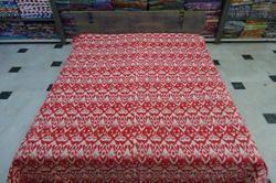 Kantha Quilt Handmade Gudri Ikat Bed Cover