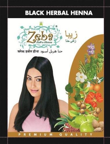 Zeba Black Herbal Henna
