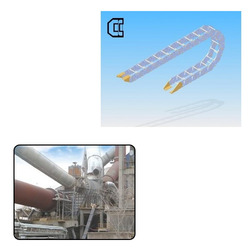 Cable Drag Chains for Cement Machinery