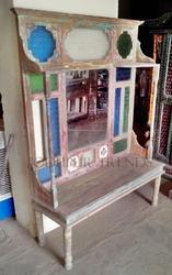 reclaimed dressing table