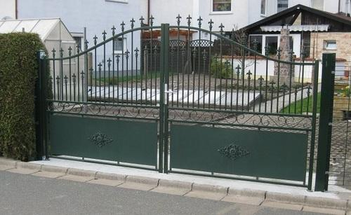 Wrought Iron Gates Double Gates Manufacturer From Ludhiana