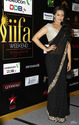 Sonakshi Sinha Black Saree at IIFA