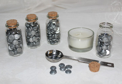 Empty Glass Bottles With Cork For Various Uses