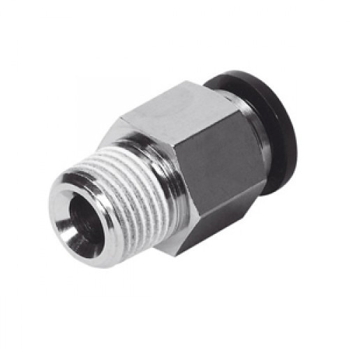 Push To Connect Fittings >> Pneumatic One Touch & Bras Fitting - Push Fitting ...