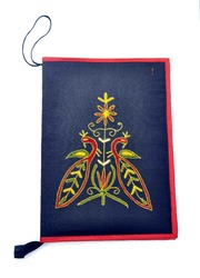 Hand Embroidered File Folder