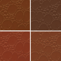 Tan PVC Leather Cloth