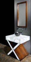 white quartz counter top