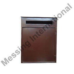 Iron Mail Boxes with Brown Powder Coated