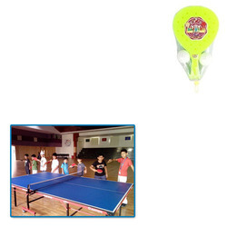 Plastic Junior Table Tennis Bat for Play School